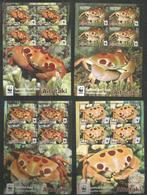 AITUTAKI - MNH - Animals - Marine Life - Crabs - WWF - Meereswelt