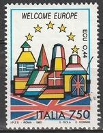 Italia 1993 - Lire 750 - Europa - Gran Bretagna - 6. 1946-.. Repubblica