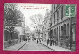 93/ SEINE SAINT DENIS...LE PRE SAINT GERVAIS. La Gendarmerie. Le Théâtre. La Fontaine - Le Pre Saint Gervais