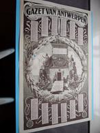 1924 > GAZET Van ANTWERPEN ( Er Zit Een Gat In > Zie Foto's ) Dubbel Gevouwen Dokument ! - Calendriers