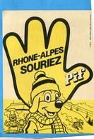 """PIF LE CHIEN-""""RHONE ALPES SOURIEZ"""" édition St Hilaire Années 60 - Bandes Dessinées"""