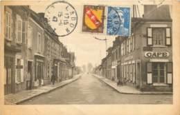 45 - LADON - Avenue Du 24 Novembre En 1947 - Café - Autres Communes