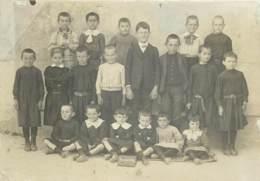 47 - BOURGOUGNAGUE - Photo Des écoliers En 1912 - Personas Anónimos