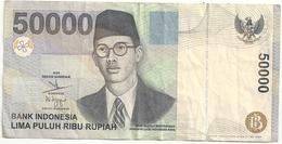 Indonésie 50000 Rupiah 1999 - Indonesia