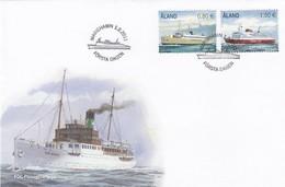 GOOD ALAND FDC 2011 - Ships - Aland