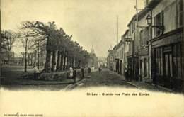 95 - SAINT LEU -- Grande Rue -- Place Des Ecoles / A 452 - Saint Leu La Foret