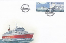 GOOD ALAND FDC 2012 - Ships - Aland