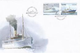 GOOD ALAND FDC 2010 - Ships - Aland