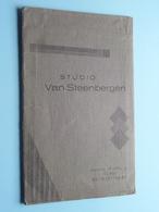 Mapje, Formaat : 17 X 10,5 Cm. > Studio VAN STEENBERGEN Groote Markt 4 St. NIKOLAAS Tel 837 ( Zie / Voir Photo ) ! - Zubehör & Material