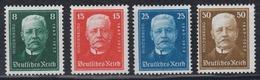 DEUTSCHES REICH 1927 - Michel 403-406 POSTFRISCH MNH** - Germania