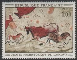 France Neuf Sans Charnière 1968 Peinture Rupestre Grotte De Lascaux   YT 1555 - Other