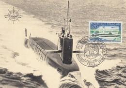GOOD FRANCE Maxicard 1969 - Submarine - 1960-69