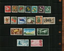 NEW ZEALAND - QEII - 1967 - 18 Stamps - USED - New Zealand