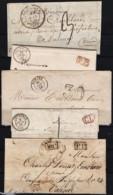Lot De Lettres Précurseurs - Postmark Collection (Covers)