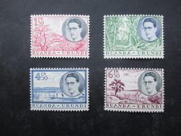 TIMBRE RUANDA-URUNDI (V1909) 1955 - 1960 (3 Vues) 196/199 + 216A/217A + 219/223 ** - Ruanda-Urundi