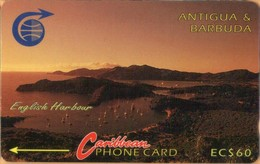Antigua & Barbuda - ANT-5B, 5CATB, English Harbour (Old Logo), 10.000ex, 1992, Used As Scan - Antigua And Barbuda
