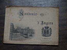 Livre Photos Souvenirs D'Angers F.éditeurBerthault Photographe - Otros