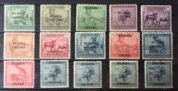 Ruanda Urundi - 62/76 - Vloors - 1925 - MNH & MH - Ruanda-Urundi