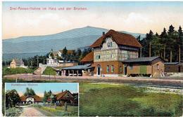 DREI-ANNEN - HOHNE Im Harz Und Der Brocken - Forsthaus Hohne - Bahnhof - Wernigerode