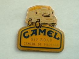 Pin's 4 X4 - CAMEL OFF ROAD - CENTRE DE PILOTAGE - Rallye