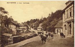 SCHIERKE Im Harz - Dorfstrasse - Wernigerode