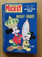 Disney - Mickey Parade - Année 1976 - N°723 Bis (avec Grand Défaut D'usure) - Mickey Parade