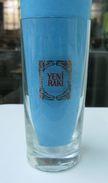 AC - YENI RAKI OLD LOGO VINTAGE GLASS RARE TO FIND - Verres