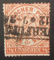 N°284 TIMBRE DEUTSCHES REICH NORDDEUTSCHER POSTBEZIRK OBLITERE - Allemagne