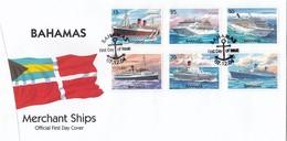 GOOD BAHAMA FDC 2004 - Ships - Bahamas (1973-...)