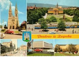 SALUTI DA ZAGEB   (CROAZIA) - Croazia