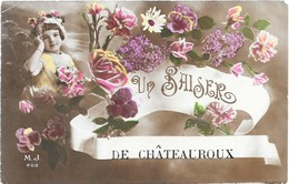UN BAISER DE CHATEAUROUX - Petite Fille - Autres