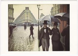 Gustave CAILLEBOTTE (1848-1894) - Rue De Paris, Temps De Pluie (1876-1877) - Peintures & Tableaux