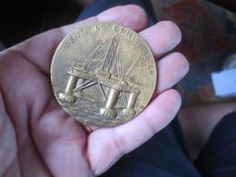 Médaille  - PENTA 83 DRILL MASTER -1973 -Plateforme Forage En Mer - Professionnels / De Société