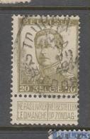 COB 119 Oblitération Centrale TOURNAI 2B - 1912 Pellens