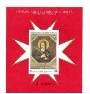 Feuillet -Ordre De Malte - Sovrano Militare Ordine Di Malta-voir état - Malte (Ordre De)