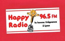 1 Autocollant RADIO HAPPY LYON - Pegatinas