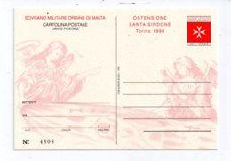 Feuillet -Ordre De Malte - Sovrano Militare Ordine Di Malta-cartolina Postale-voir état - Malte (Ordre De)