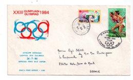 Olimpijadi 1984 -premier Jour - Ewwel Jum Tal -Malta-voir état - Malta