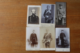 6 Cdv Troupes Alleamndes Casques A Pointes Shapska  Uhlan, Hussard De La Mort - War, Military