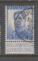 COB 125 Oblitération Centrale MAREDRET (SOSOYE) - 1912 Pellens