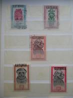 TIMBRE KATANGA Oblitéré Ou Non (V1909) 1960 - 1961 (7 Vues) Dont 18/22 (22 **) Et 23/39 - Katanga