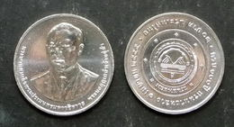 Thailand Coin 20 2014 100th Anniversary Of The Department Of Highways (#56) - Tailandia