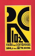 1 Autocollant RADIO DU CAMBRESIS - Autocollants