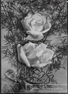 BUON ONOMASTICO - ROSE  - VIAGGIATA DA TORRE PEDRERA(FO) 1955 - Altri