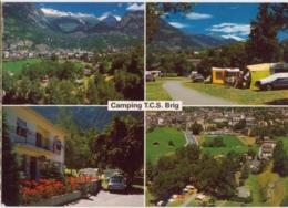 Brig, Camping GESCHINA (TCS), 4 Bilder - VS Valais