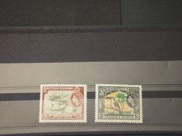 GUYANA - 1954 UCCELLI/PIANTE 3 C. - 1 D. - NUOVI (++) - Guiana (1966-...)