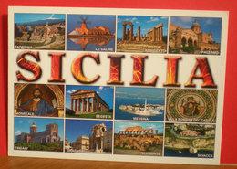 Sicilia Vedute Cartolina Non Viaggiata - Autres Villes