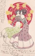 Liberty  -  Il Vortice Rosso  -  Edit.  H. C. Wolf, Paris  -  Lit. E. Nister, Nuremberg - Illustratori & Fotografie