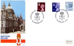 Northern Ireland 1978  -  New Definitive Stamps FDC  -  4v  First Day Cover - Irlanda Del Norte