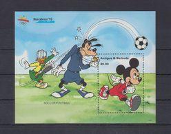 Olympische Spelen  1992, Antigua & Barbuda - Blok  Postfris - Ete 1992: Barcelone